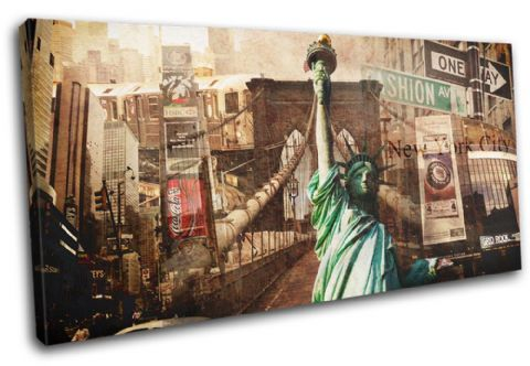 New York Vintage Collage City - 13-6006(00B)-SG21-LO